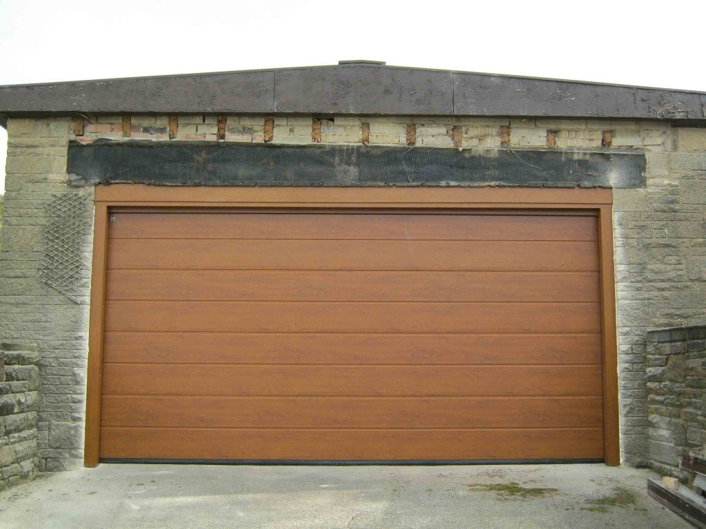 768 #6B492D Sectional Garage Doors Gallery ABi Garage Doors picture/photo Oak Garage Doors 38491024