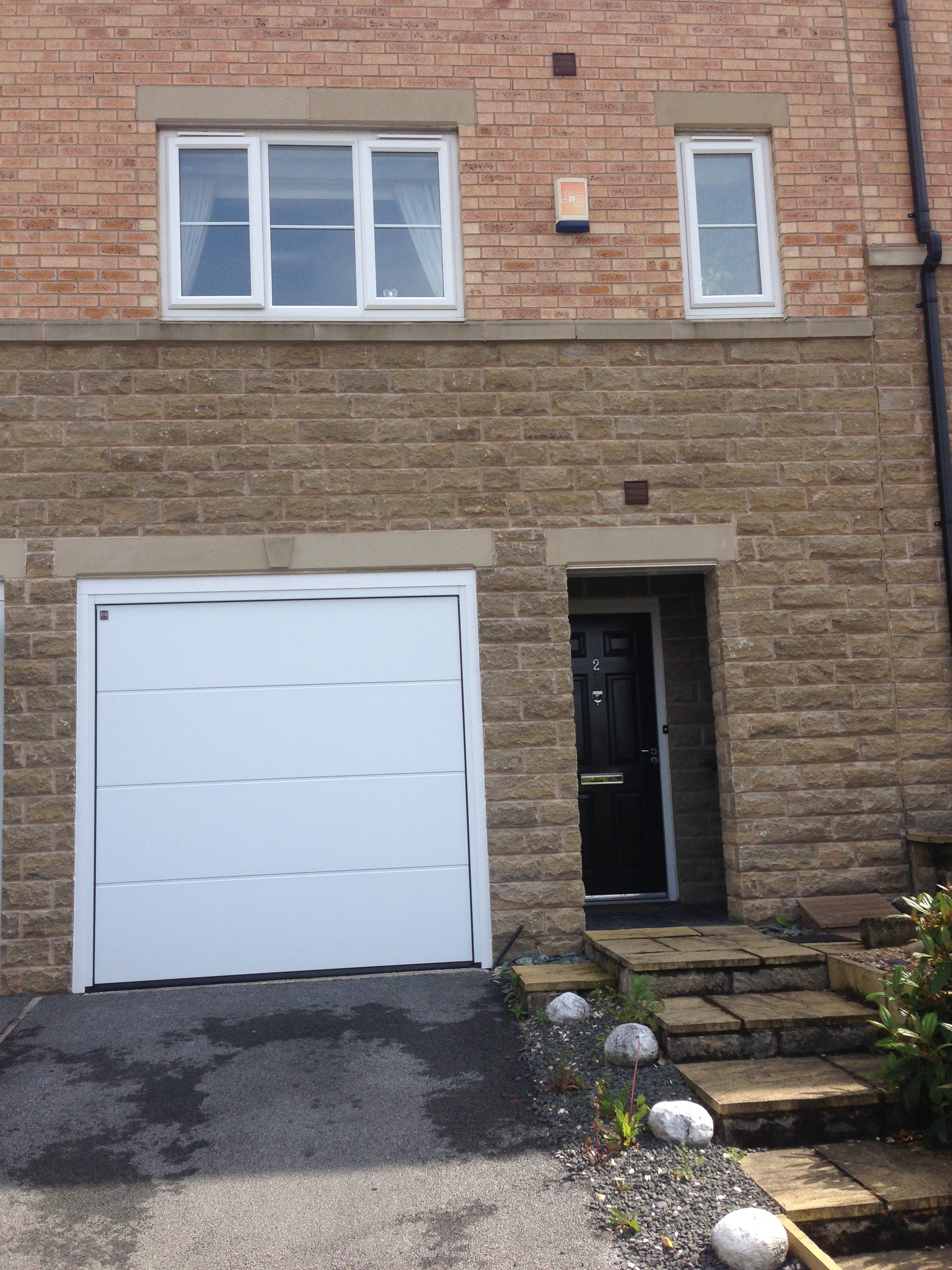 3264 #436188  LPU40 Sectional Garage Door Installed In Leeds ABi Garage Doors pic Installed Garage Doors 37212448
