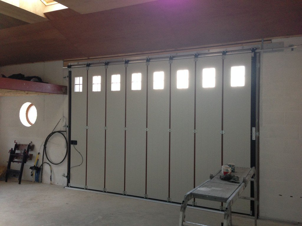 Hormann Vertical Side Sliding Garage Door Interior By ABi Garage Doors