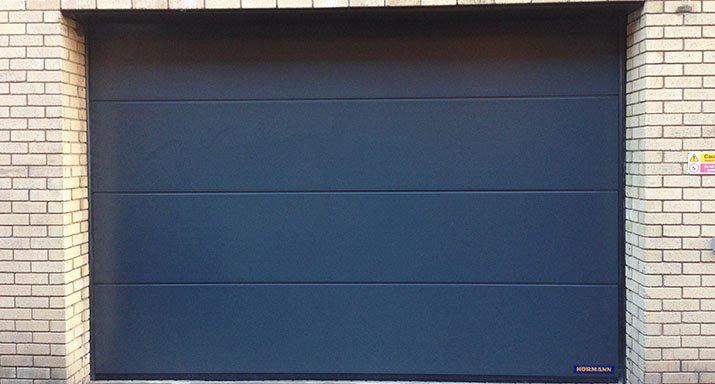 Hormann Spu F42 Industrial Sectional Door Installed At