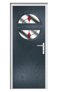Style TR1D ThermoComp Composite Front Door