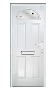 Style TR1E ThermoComp Composite Front Door