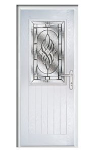Style TR1J ThermoComp Composite Front Door