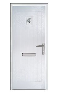 Style TR1K ThermoComp Composite Front Door