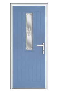 Style TR1W ThermoComp Composite Front Door