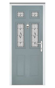 Style TR27 ThermoComp Composite Front Door