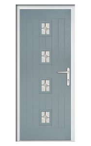 Style TR2F ThermoComp Composite Front Door
