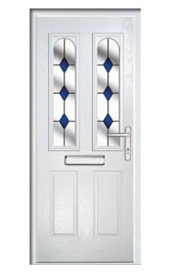 Style TR32 ThermoComp Composite Front Door