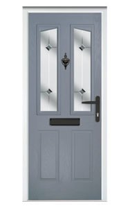 Style TR33 ThermoComp Composite Front Door