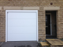 Image1 of Recently Installed LPU40 Sectional Garage Doors
