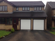 Image3 of Recently Installed LPU40 M Ribbed Sectional Garage Doors