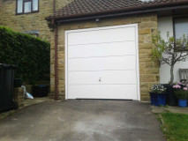 Hormann Finesse Horizontal Up and Over Garage Door By ABi