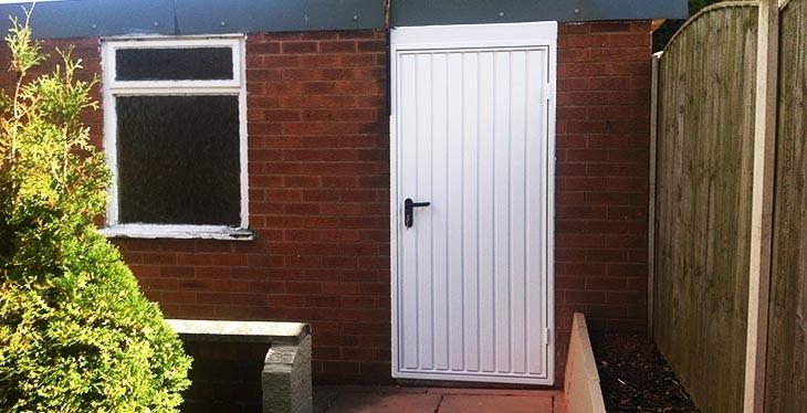 Garage side doors matching abi